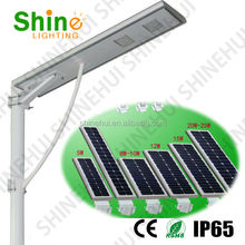 solar street light all in one LED 12w12v solar panel