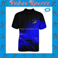 New design polo t shirts for sublimation printing