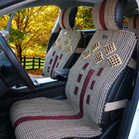 Handmade Ice Silk Car Seat Cover For All Season and universal