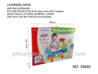 Learning project toy desk, writing, drawing