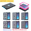 New arrival high quality defender case hard silicone back case for iPad Air 2/ iPad 6