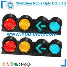 300mm(8'') new coloured solar led lights with 4 aspects traffic signal