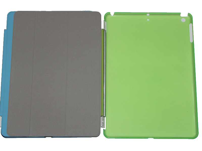 Hot pdesigned multi function book leather case for ipad mini