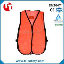 EN1150 kid safety jacket High visibility and safety CE ceter, children safety vest