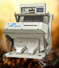 Small output CCD coffee bean color sorting plant