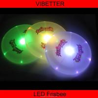 professional 175g ultimate plastic wholesale led frisbee
