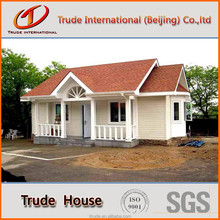 modern house design steel frame luxury prefab villa