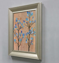 Wood framed abstract canvas gallery wrap, gallery canvas, painting on canvas ideas