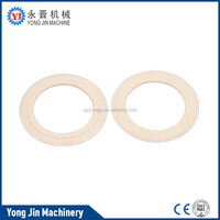 Narrow fabric needle loom parts - take off wheel cover