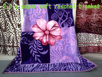 king size super soft high quality embossed raschel acrylic blanket 2ply 200 X 240 CM 4.5kg
