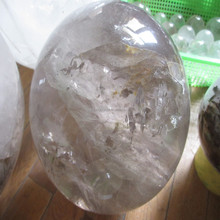 top quality clear quartz antique imitation crafts small crystal ball carving/sculpture Fengshui