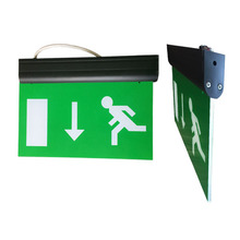 LED Exit Evacuation Emergency Exit Signs for Shopping Mall with Running Man