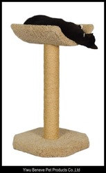 Simple cat scratching post