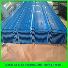 corrugated steel roofing sheet / color metal tile sheet