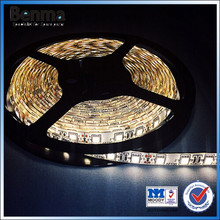 SMD5050 led strips waterproof for motorcycle,warm white 18-20lm/leds