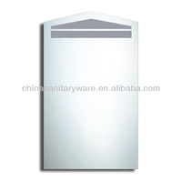 led backlit glass mirror cabinet with frosted in supplier