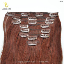 Most Fashion Alibaba China Wholesale Remy Virgin Wholesale clip in remy hair extensions 200g one piece