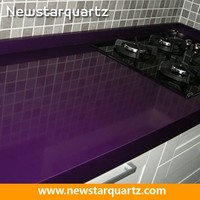 Quartz Stone Kitchen Purple Quartz Countertop