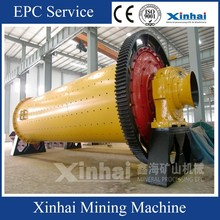 Energy Saving Industrial Ball Milling Machine Cylinder Grid Ball Mill , Mining Machine