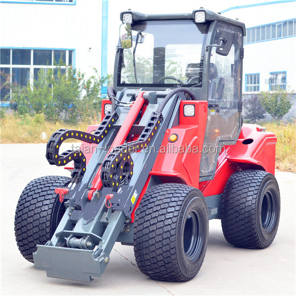 Chinese small garden tractor loader dy1150 mini front end loader for sale buy small garden for Small garden tractors with front end loaders