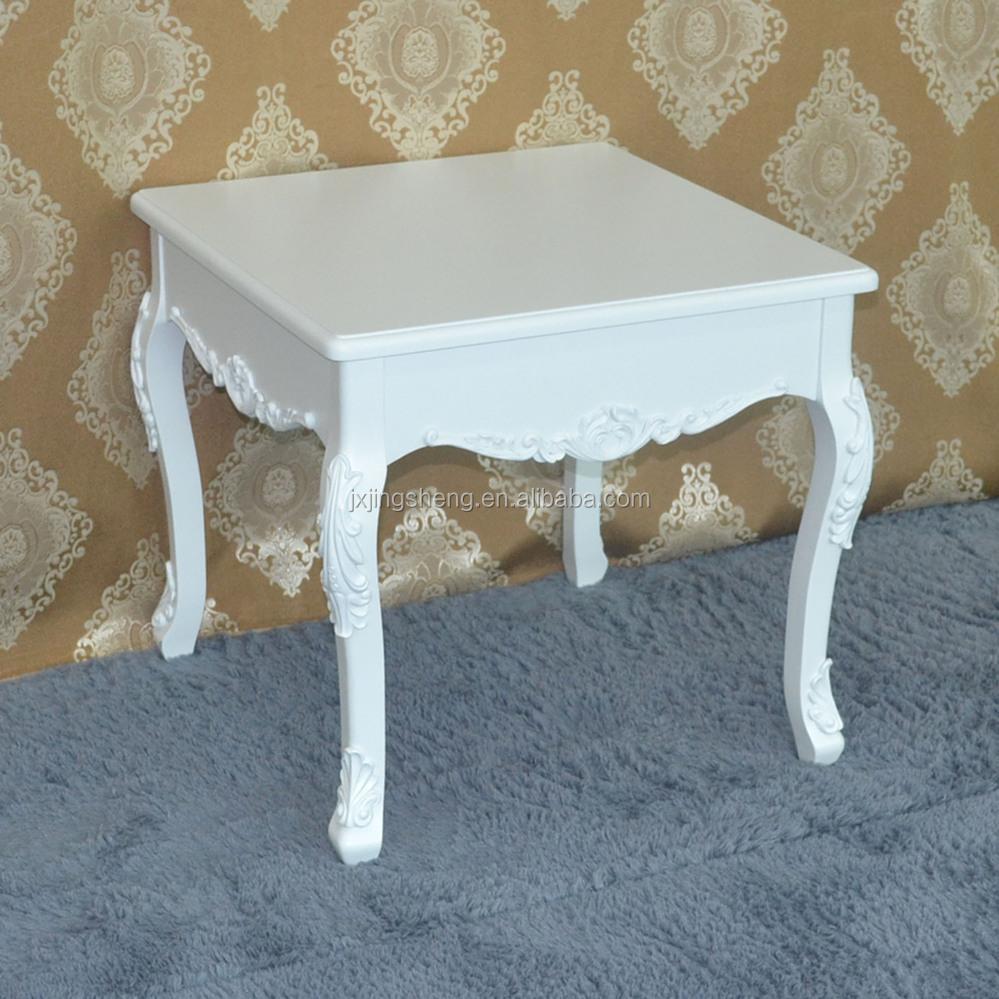 Handgemalte schlafzimmer möbel kleine größe weißen holzcouchtisch ...