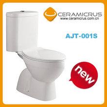 Ceramic WC toilet AJT-001S