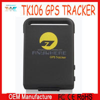 Manufactory directly sale ! GPS Tracker TK106 / Locator and monitor any remote targets by SMS or GPRS / PET Tracker / Real Time