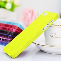 Alibaba china top brand ultra thin clear plastic cell phone case for Iphone 4 4S 5 5S mobile phone