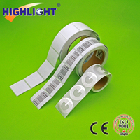 HIGHLIGHT RL033 store cosmetics/bottles/boxes/packaging retail security 8.2mhz eas rf label