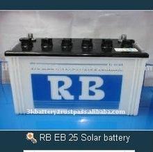 RB EB 25 12V Deep Cycle Solar Battery