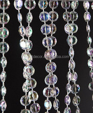 Roll of Beads (99 ft)- Diamonds Crystal Iridescent ,beads string rolls