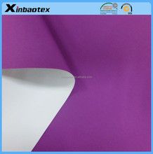 100%nylon fabric for jacket or ski suit 228T nylon taslon with PU coating