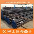 Q235 de tubos de acero negro