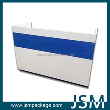 JSM MDF boards checkout counter in retail store