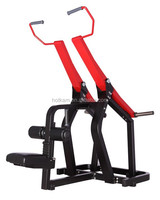 3.0mm square tube Pull Down fitness equipment used gym equipment for sale