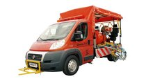 Truck mounted road marking paint machine Shmel 11c