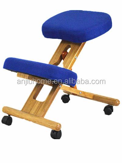 Ergonomischer bürostuhl holz  Holz kniestuhl/ergonomisches design bürostuhl/Qualität stoff ...