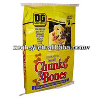 plastic bags for dog food packaging