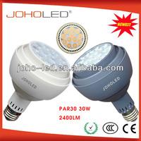 High lumens 2400lm Ra80 Cree/Edison/Osram led par light par30 35w
