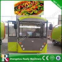5M long fabrica de food truckt /stainless steel food truck for sale