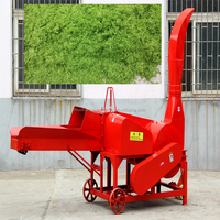 rice straw grinder/crusher/chopper/shredder machine