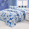 2015 Hot Warm Thick Cozy Wholesale 100% Polyester Bedding Sets Hearts Shape Coral Fleece 3D Print Blanket