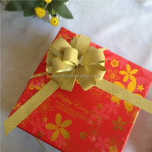 Fashion Glitter Pull Bow For Gift Decoration