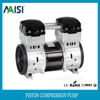 Alibaba supplier of 220v ac compressor pump 1200w mini electric piston air pump