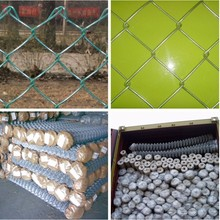 pvc or electro galvanized chain link fence (Top Sales)