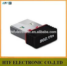 Alta calidad de OEM / ODM 150 M Ralink7601 chipset wifi NANO external tarjeta de red