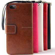 Two in one multifunction Stand holder wallet pu+tpu leather case for iphone 6