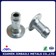 customized high quality mid-air heart rivet and shollow rivet