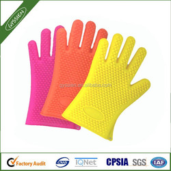 Slip-resistant colored Barbeque Gloves