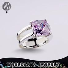 Color Zircon Women Wedding Fashion Ring Jewellery, Fashion Finger Ring